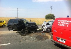 Accident langa Spitalul Judetean. Doua victime