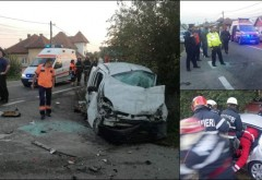 Accident in Ploiesti, la intersectia strazilor Buna Vestire si Udriste Nasturel