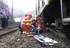 Accident MORTAL in Ploiesti. Un barbat a fost lovit de tren, in zona Dorobantu