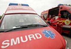 Accident grav pe DN1. Șapte persoane au fost implicate. Traficul este restricționat