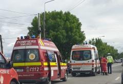 Accident in Ploiesti, in cartier Bereasca. Doua masini s-au facut praf, o victima