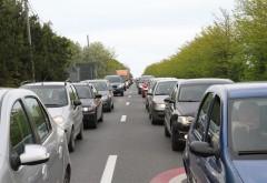 Atentie, soferi! Incep asfaltarile pe DN1, la Nistoresti si Comarnic. Traficul va fi ingreunat
