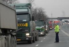 Filtru de poliție la Blejoi. Echipajele vizează transportatorii de mărfuri sau persoane