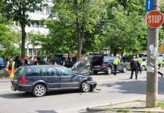 ACCIDENT pe Soseaua Vestului, la Balif. Doua victime