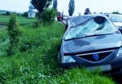 Accident pe DN1B, la Albesti. Doua victime