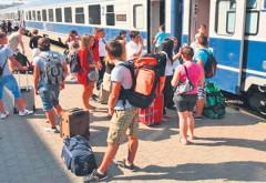 """S-a lansat programul """"Trenurile Soarelui"""". Turistii vor ajunge pe litoral in mai putin de 2 ore"""