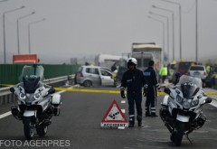 Trei accidente și trafic infernal pe autostrada A2