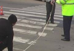 Accident pe Soseaua Vestului. Un barbat de 74 de ani a fost lovit de masina, pe trecerea pentru pietoni