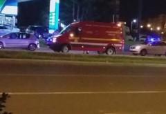 Accident pe trecerea de la West Mall. O tanara de 20 de ani a fost lovita de masina