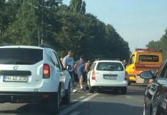 Accident pe DN1, la Puchenii Mari. Doua masini implicate, o victima