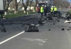 Accident GRAV în Brașov - DOI MORȚI după ce o mașină s-a IZBIT de un TIR