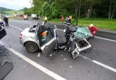 Accident GRAV pe DN1 între un autocar și un autoturism - A fost activat planul roșu de intervenție. Circulație rutieră blocată