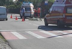 Accident mortal in Baicoi. Un biciclist a fost spulberat de masina, pe str. Idependentei