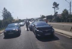 Accident pe DN1, la Romanesti. Trei masini implicate, mai multe victime