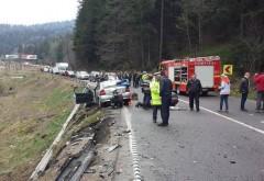 Accident cu 4 masini pe DN1, la Azuga
