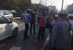 """Copil lovit pe trecerea de pietoni de pe Republicii, zona Scolii """"Sf. Vasile"""""""