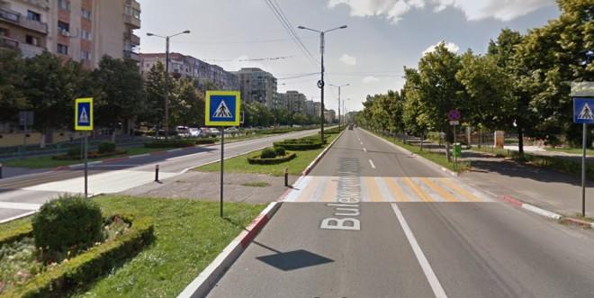 Un nou accident in Ploiesti, pe trecerea de pietoni de pe Republicii, langa Rossi