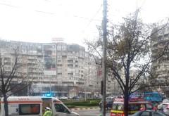 Accident in zona Caraiman. Un tramvai si doua autoturisme implicate, o victima