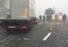 Accident in Lipanesti, intre un TIR si un autoturism