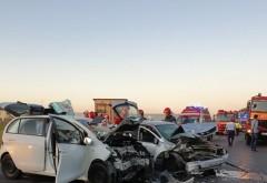 Accident pe DN1, la Baicoi. Doua masini implicate, o victima