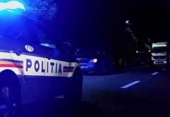 Pieton beat lovit de mașină pe DN 1, la Câmpina