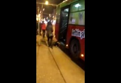 Bărbat accidentat de autobuz, în stația Hale Coreco
