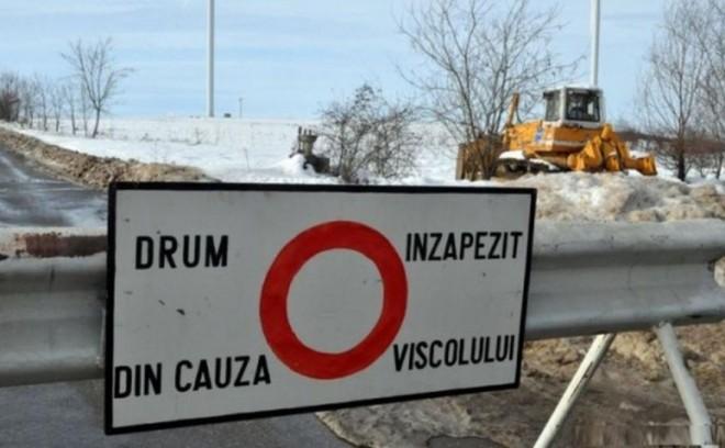 Starea drumurilor după codul roșu de ninsoare și viscol. Situația traficului la ora 16.00
