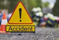 Accident in Bariera Bucuresti, langa Hipodrom. S-a format coloana de masini pana la Gara de Sud