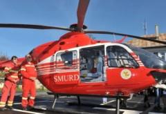 Accident grav la Ciorani. Un copil de 9 ani a fost lovit de masina. Intervin echipaje SMURD cu un elicopter