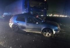 Accident grav in Prahova, la Zalhanaua. Un TIR a izbit in plin un autoturism. Doua persoane INCARCERATE