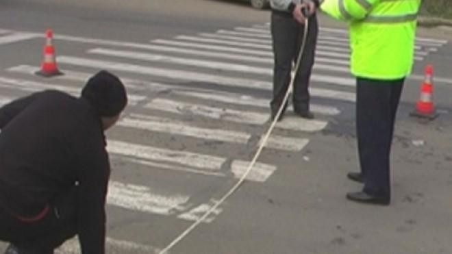 Ironia sortii! Un pieton a fost lovit pe trecere de o masina a Politiei. Accidentul s-a produs pe DN1 B, la Albesti