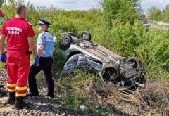 Tragedie in Prahova. Un politist local a murit dupa ce masina a fost izbita de un tren, la Dumbrava