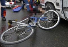 Accident MORTAL in Prahova. Un biciclist a fost spulberat de masina in Albesti, pe drumul spre Ciorani