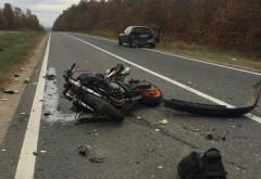 Accident grav la Filipestii de Targ. Un motociclist, lasat inconstient dupa un accident rutier