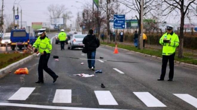 Accident la Lipanesti. O femeie a fost lovita de masina, pe trecerea pentru pietoni