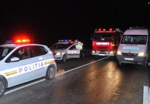 Accident grav pe DN1, la Azuga, provocat de un sofer baut