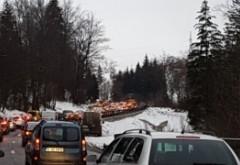 Cat de preocupat e Guvernul Orban sa rezolve problema aglomeratiei de pe Valea Prahovei: Autostrada Ploiești - Brașov se amână cel puțin trei ani