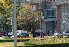 Accident grav in zona Caraiman. Un biciclist a fost spulberat de masina