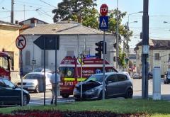 Accident in Ploiesti, langa Hotel Prahova
