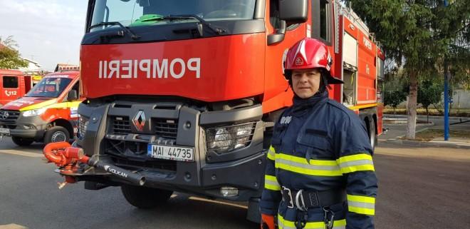 Un pompier aflat in timpul liber a intervenit de urgenta in accidentul in care a fost implicata ambulanta Mediurg