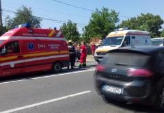 Accident pe DN1B, la Valea Calugareasca, din cauza unui sofer care a intors neregulamentar