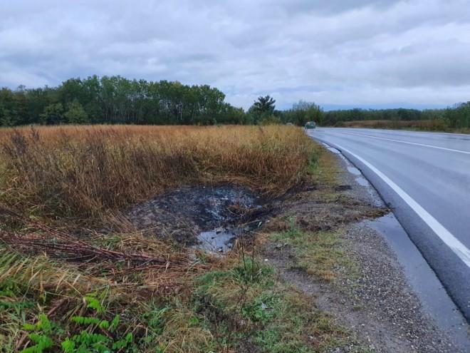 O tanara de 18 ani din Prahova a ars de vie in masina, dupa ce autoturismul s-a rasturnat si a luat foc, la Cocorastii Colt