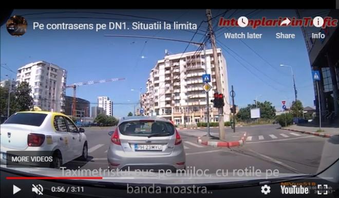 Filmare incredibila din Ploiesti, cu soferi periculosi in trafic. Cum se produc tragediile pe sosele /VIDEO