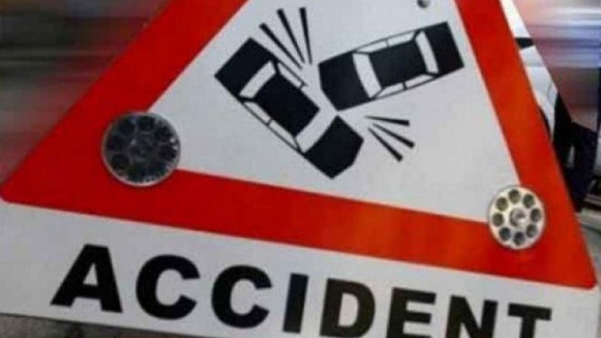 Accident la Valea Calugareasca. Un pieton a fost lovit pe trecere de o autoutilitara