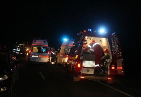 Accident grav pe DN1, la Cornu. Trafic ingreunat pe sensul spre Sinaia