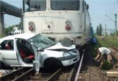 BREAKING/ Masina lovita de tren in Prahova, la Corlăteşti