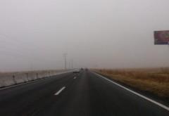 Conduceți prudent. Se circulă în condiții de ceață in anumite zone din Prahova
