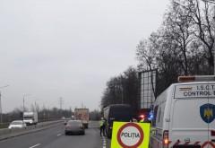 Controale ale Politiei Rutiere pe drumurile din Prahova. Transportatorii de marfa si persoane, luati in vizor