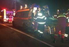 Accident grav pe DN1, Centura Sinaia. Trafic BLOCAT, 3 victime asistate de SMURD