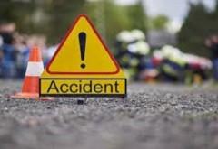 Accident soldat cu doua victime, in Prahova, la Teisani